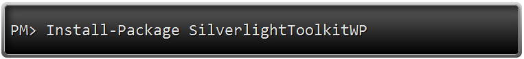nuget_silverlight_toolkit