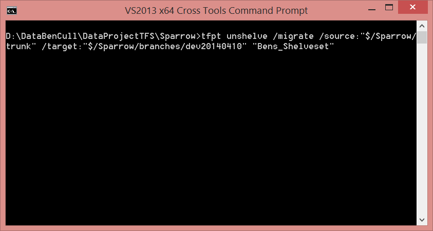 Command Prompt with Command